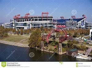 Lp Field In Downtown Of Nashville Editorial Photo