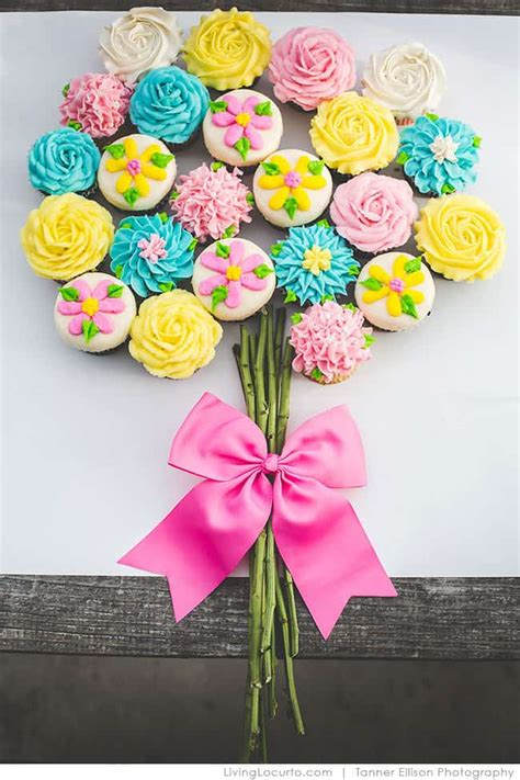 birthday cupcake cakes pull  cake ideas