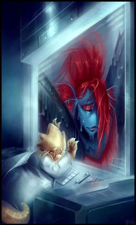 farewell undyne undertale collab  walkingmelonsaaa
