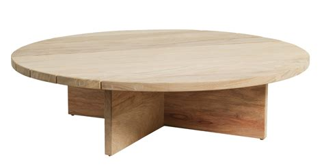 Design Of Round Wood Coffee Tables Round Wooden Coffee