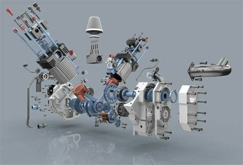 Engineering, Cars, Exploded View