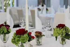 Rosen Im Glas : tischdekoration f r hochzeit floristik martina schaible ~ Eleganceandgraceweddings.com Haus und Dekorationen
