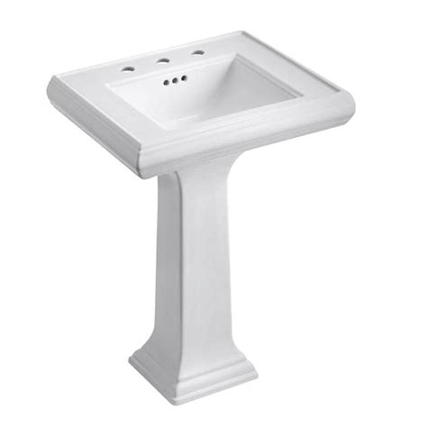 kohler memoirs ceramic pedestal combo bathroom sink with