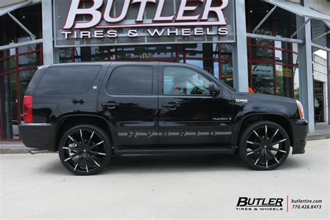 chevrolet tahoe   lexani css wheels exclusively