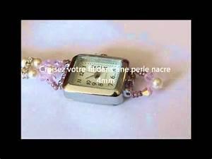 Comment Faire Un Bracelet En Perle : comment faire une montre avec un bracelet en perles youtube ~ Melissatoandfro.com Idées de Décoration