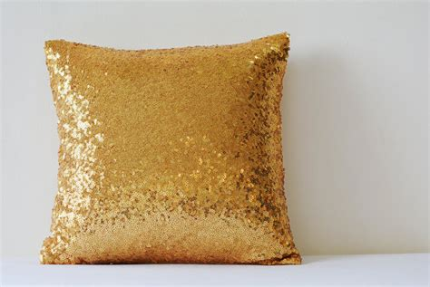 gold throw pillow shiny 24 ct gold pillow cover metallic gold cushion cover