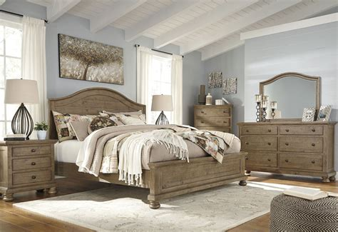 Bedroom Furniture Sets Nairobi by Trishley Light Brown Panel Bedroom Set From