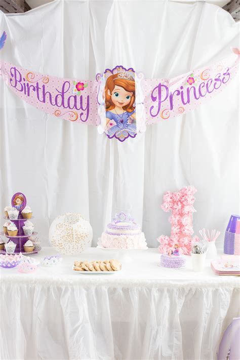 Sofia The First Birthday Party   Made To Be A Momma