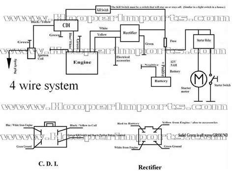 Chinese Quad Wiring Need Help General Atv Utv
