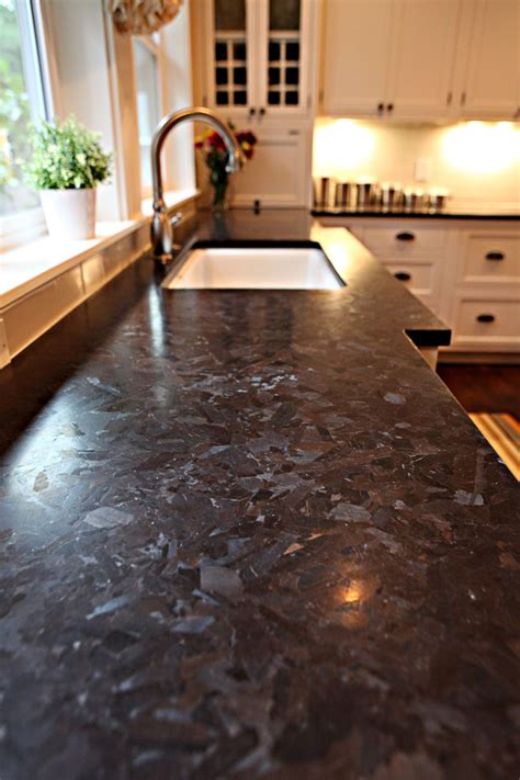 leathered granite countertops kitchen with dupont edge