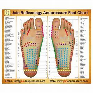 Jain Reflexology Foot Chart Jain Chumbak