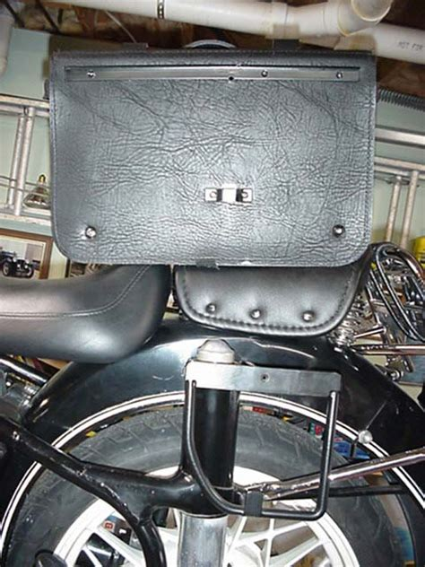 bmw motorcycle leather saddle bags denfeld