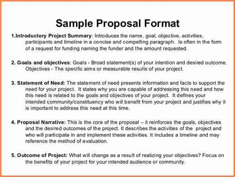 sample  funding proposal project project proposal
