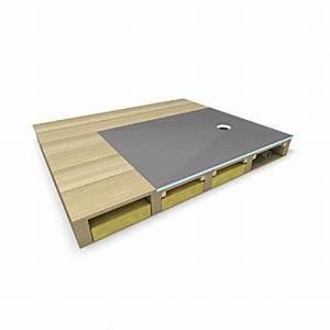 Bac A Douche Wedi : receveur de douche pour montage sur planchers bois fundo ~ Dode.kayakingforconservation.com Idées de Décoration