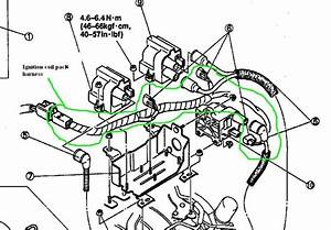 1993 Front Harness Annotated Connector Pictures
