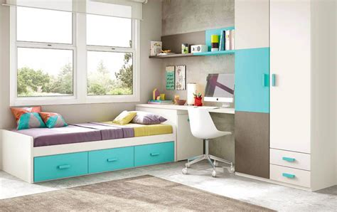 chambre et gris ado chambre enfant garcon avec lit 3 coffres glicerio