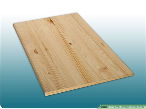 build cabinet doors plywood how to make cabinet doors 9 steps with pictures wikihow
