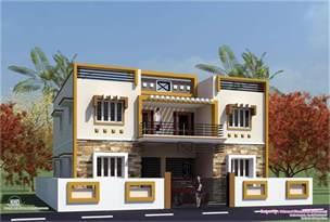 Box Houses Design by Eco Friendly Houses Box Type Tamilnadu House Design