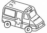 Ambulance Drawing Van Coloring Transportation Getdrawings Pages Drawings sketch template