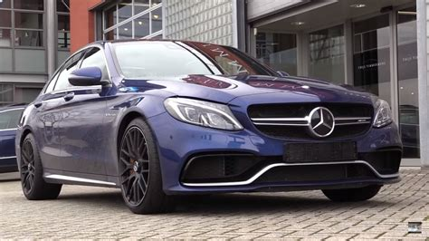 Mercedes-benz C63 Amg S-model 2017 Start Up, Exhaust, And