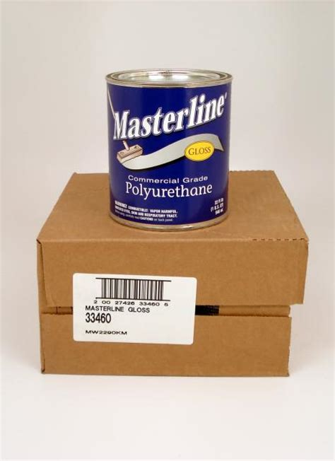 masterline polyurethane masterline oil based polyurethane wood floor finish gloss quart chicago hardwood flooring