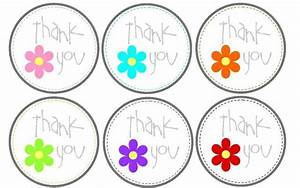 free printable thank you tags craftbnb With free printable thank you tags template