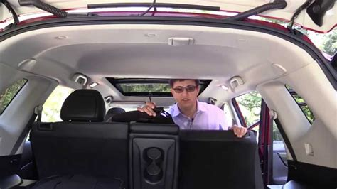 nissan rogue child seat review youtube