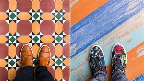 floored   instagram worthy floor tiles paired