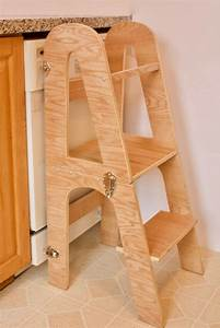 Learning Tower / Kitchen Helper - Thomas Woodcrafts