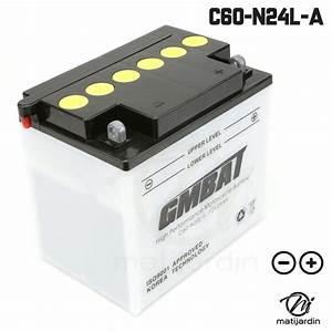 Batterie De Tracteur : batterie tondeuse c60 n24l a batteries tracteurs tondeuses matijardin ~ Medecine-chirurgie-esthetiques.com Avis de Voitures