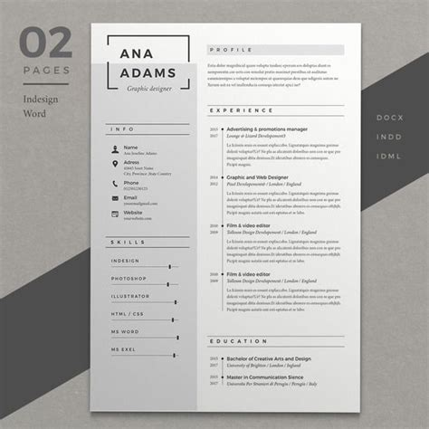 Resume Ideas by 25 Best Creative Cv Template Ideas On