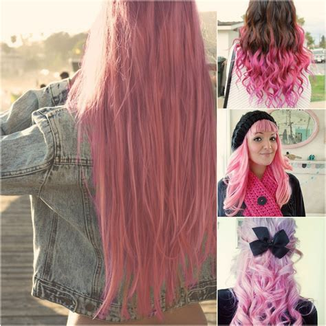 Dye Pink Hair Extensions Archives Vpfashion Vpfashion