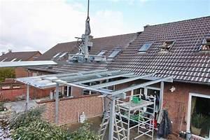 Terrassenüberdachung Glas Stahl : terrassendach aus feuerverzinktem stahl und ~ Articles-book.com Haus und Dekorationen