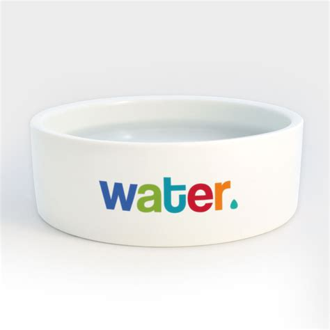 dog water bowl heavy ceramic dog cat pet bowls with colorful