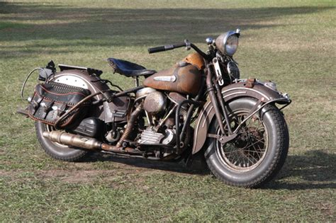 vintage 1948 harley davidson panhead totally rad choppers