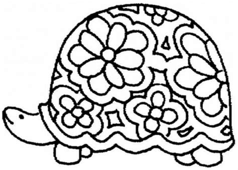 printable turtle coloring pages  kids gzkd