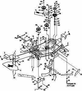 Bunton  Bobcat  Ryan 942520h Procat Se Kohler Cv680 W  52 Side Discharge Parts Diagram For 52