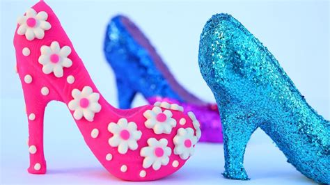Diy How To Make Play Doh Super High Heels Princess Shoes