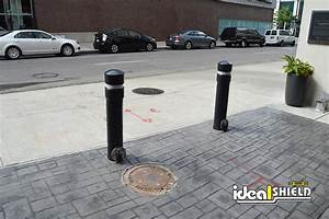 Hdpe Size Chart Removable Locking Bollards Ideal Shield