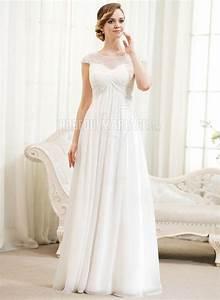Robe Mariée Courte Pas Cher : robe de mari e enceinte en chiffon pas cher avec manches courte robe2012860 ~ Mglfilm.com Idées de Décoration