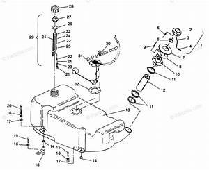 Polaris Watercraft 1994 Oem Parts Diagram For Fuel Tank Sl