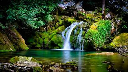 Nature Waterfall Landscape Desktop Backgrounds Wallpapers Mobile