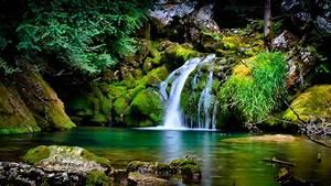 Nature, Landscape, Waterfall, 3d, Wallpapers, Hd, Desktop