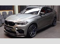 2017 BMW X6 MSport in Light Gray & Brown Interior