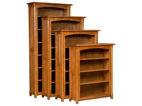 Hardwood Bookshelf by Ashton Hardwood Bookcase Custom Amish Furniture