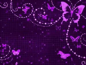 Cute Purple Butterfly Backgrounds | Background Art ...