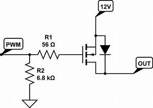 microcontroller pwm stimulated n channel mosfet With driving nchannel mosfets with a microcontroller