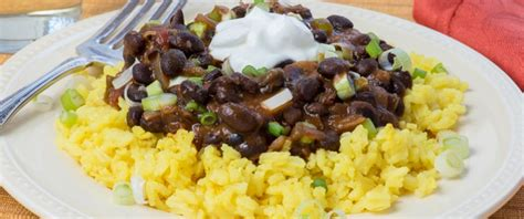 yellow rice and beans black beans and yellow rice pratesi living