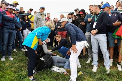 Woman Blinded by Golf Ball at Ryder Cup Says She May Sue ...