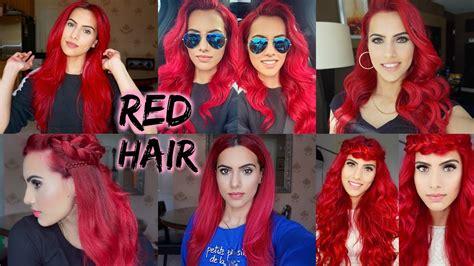 Dye Dark Hair Bright Red